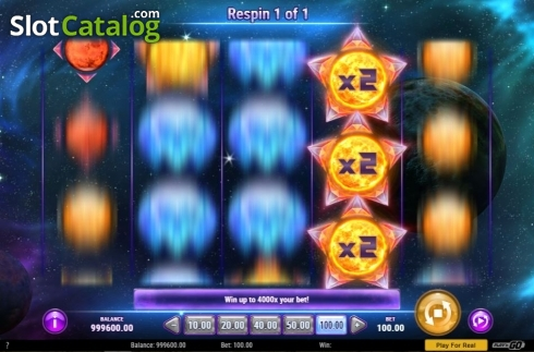 Skärm6. Crystal Sun (Video Slot från Play'n Go)