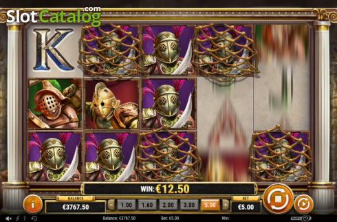 Feature 3. Game of Gladiators (Video Slot from Play'n Go)
