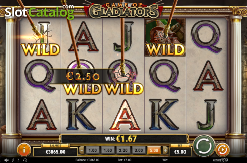Feature 4. Game of Gladiators (Video Slot from Play'n Go)