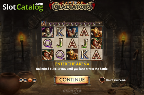 Intro 3. Game of Gladiators (Video Slot from Play'n Go)