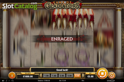 Feature 1. Game of Gladiators (Video Slot from Play'n Go)