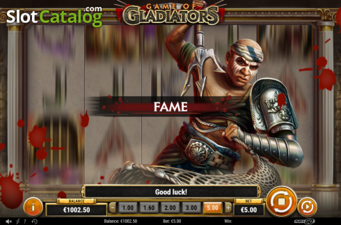Feature 2. Game of Gladiators (Video Slot from Play'n Go)