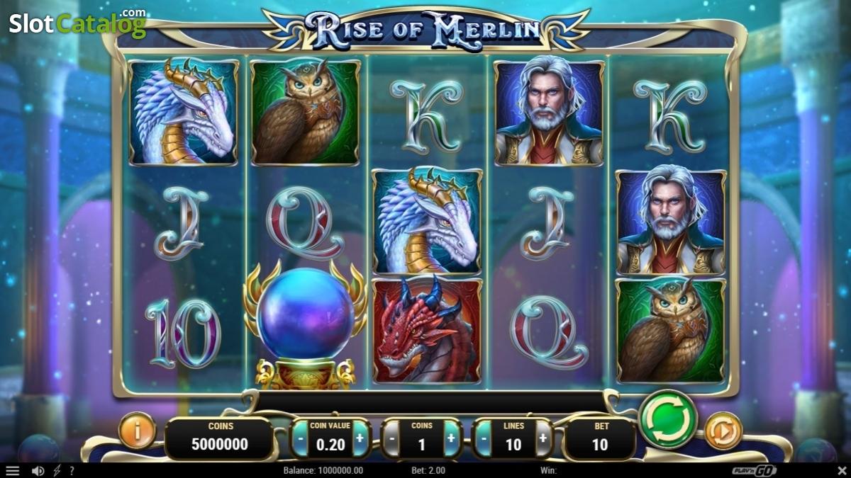 Spiele Rise Of Merlin - Video Slots Online