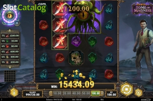 Feature 2. Tome of Madness (Video Slot from Play'n Go)