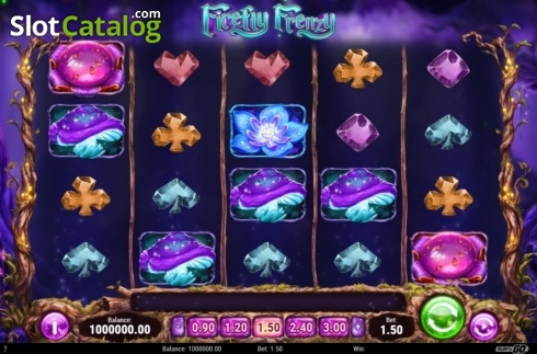 Skärm3. Firefly Frenzy (Video Slot från Play'n Go)