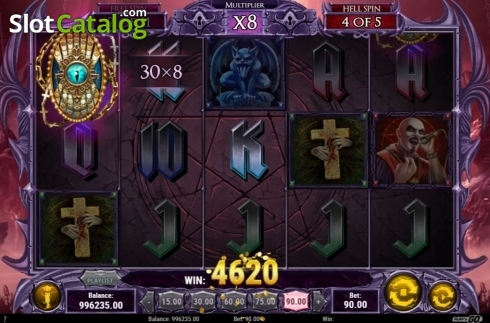 Free Spins 5. Demon (Video Slots from Play'n Go)