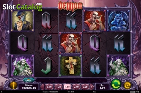 Reel Screen 2. Demon (Video Slots from Play'n Go)