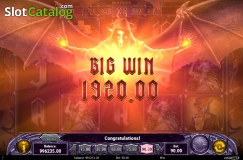 Big Win. Demon (Video Slots from Play'n Go)