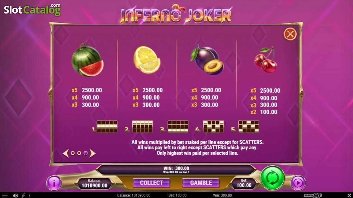 Spiele Inferno Joker - Video Slots Online