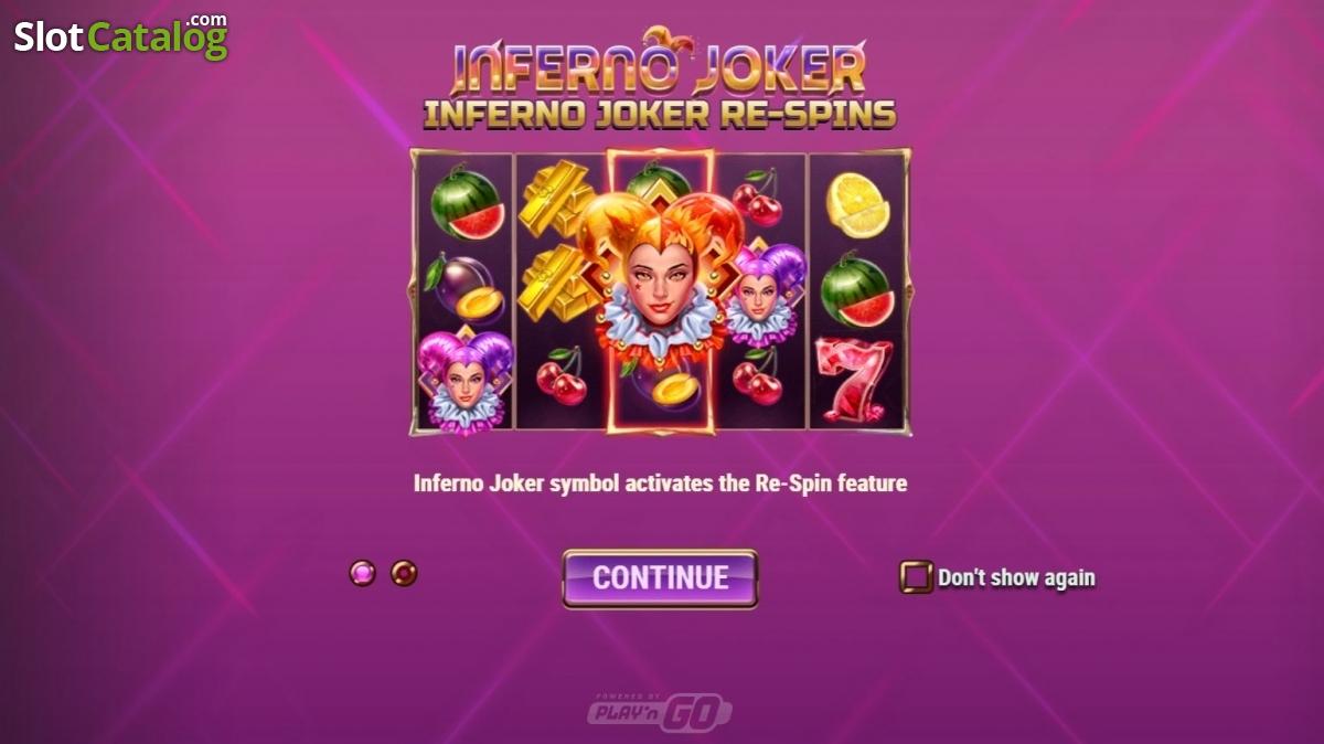 Inferno Joker Slot Review, Bonus Codes & where to play from United Kingdom