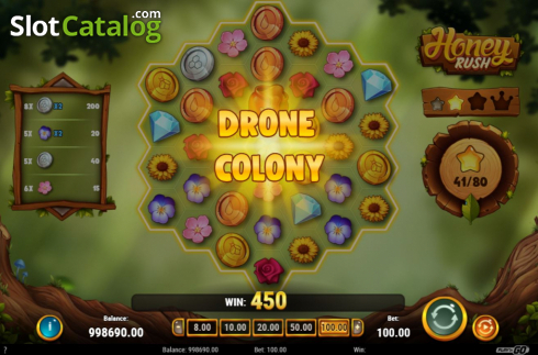 Drone Colony. Honey Rush (Video Slot from Play'n Go)