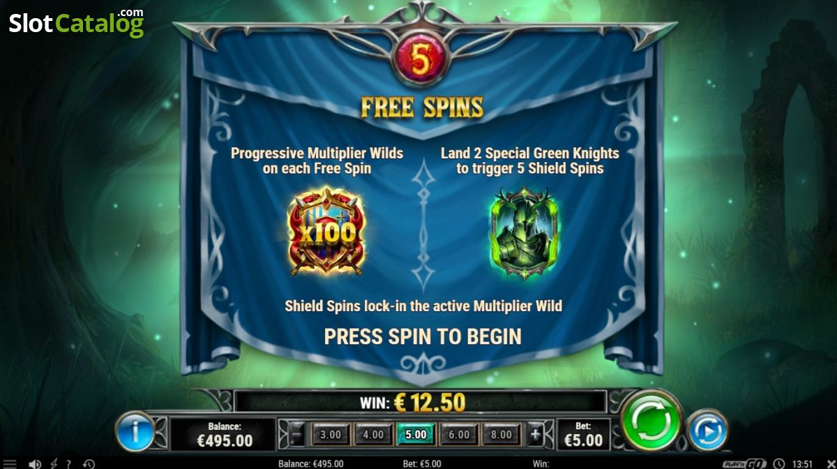 Image result for GREEN KNIGHT SLOT