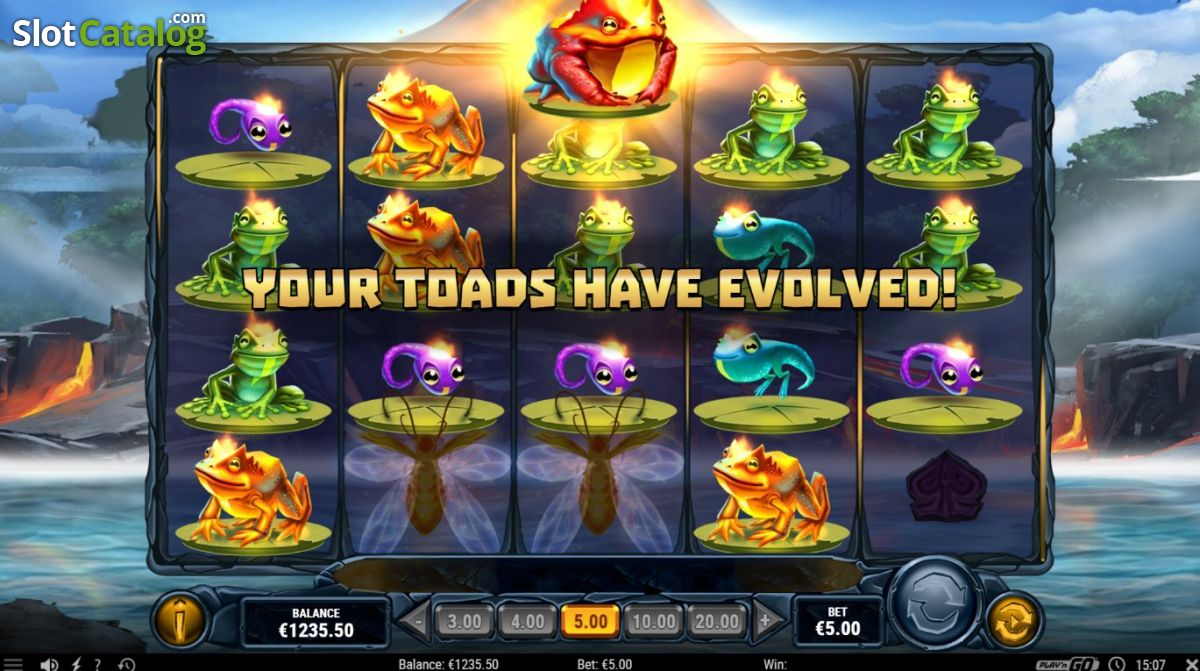 Fire Toad online slot game