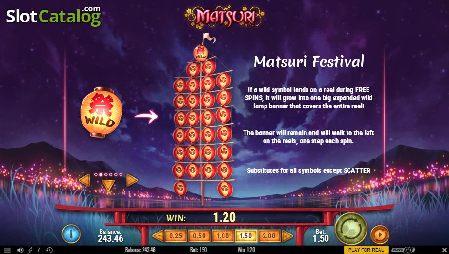 Matsuri Play n Go - Mobil6000