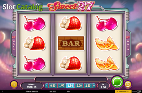 Screen 2. Sweet 27 (Video Slots from Play'n Go)
