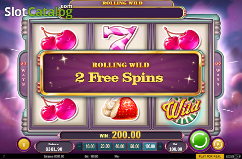 Screen 7. Sweet 27 (Video Slots from Play'n Go)