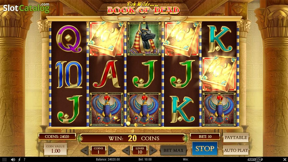 Book Of Dead Slot Rtp