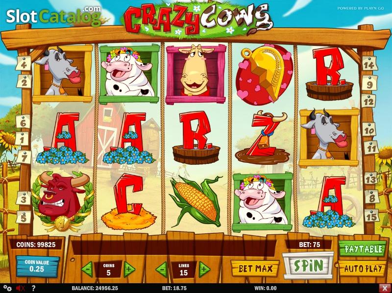Spiele Crazy Cows - Video Slots Online