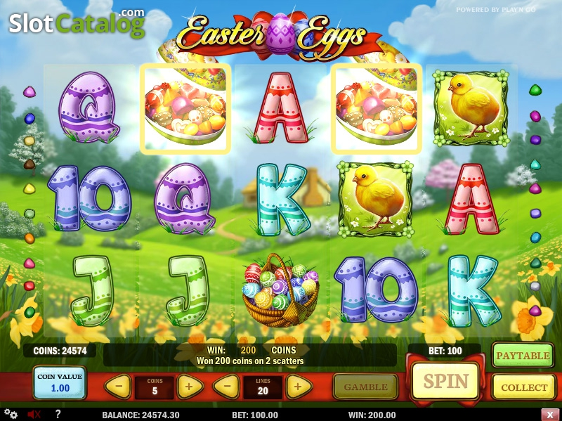 Spiele Easter Eggs - Video Slots Online