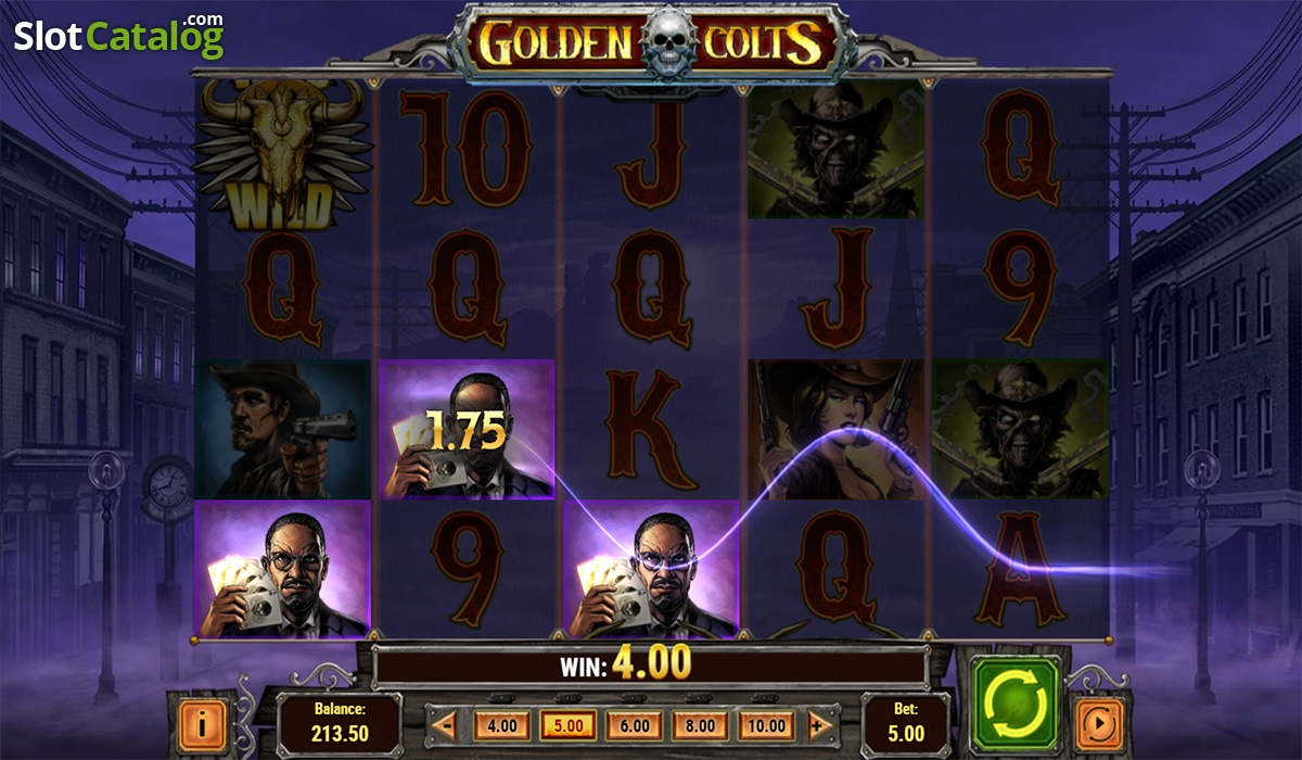 Golden Colts - Spiele Spielautomat