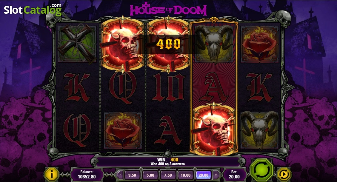 House of Doom Slot Review, Bonus Codes & where to play from United Kingdom