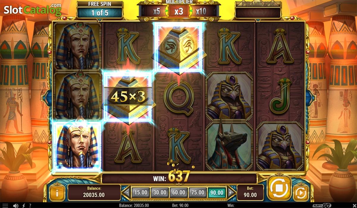 online casino legacy of egypt