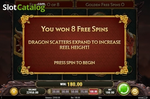 Scherm4. Dragon Maiden (Video Slot van Play'n Go)
