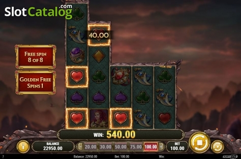 Scherm5. Dragon Maiden (Video Slot van Play'n Go)