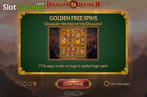 Scherm8. Dragon Maiden (Video Slot van Play'n Go)