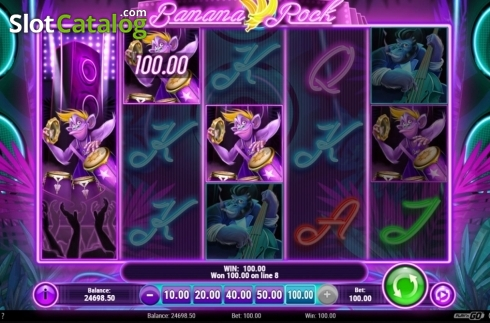 Win. Banana Rock (Video Slot from Play'n Go)