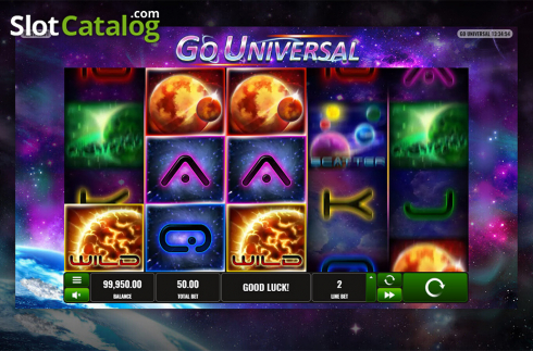 Game workflow . Go Universal (Video Slot from Playreels)