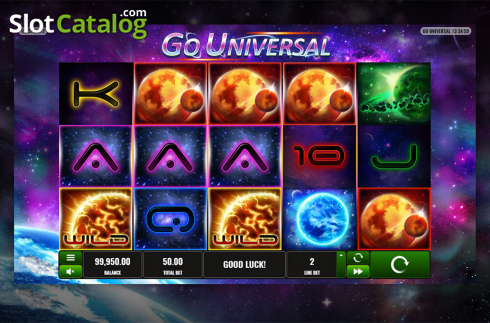Game workflow 3. Go Universal (Video Slot from Playreels)