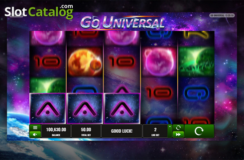 Game workflow 5. Go Universal (Video Slot from Playreels)