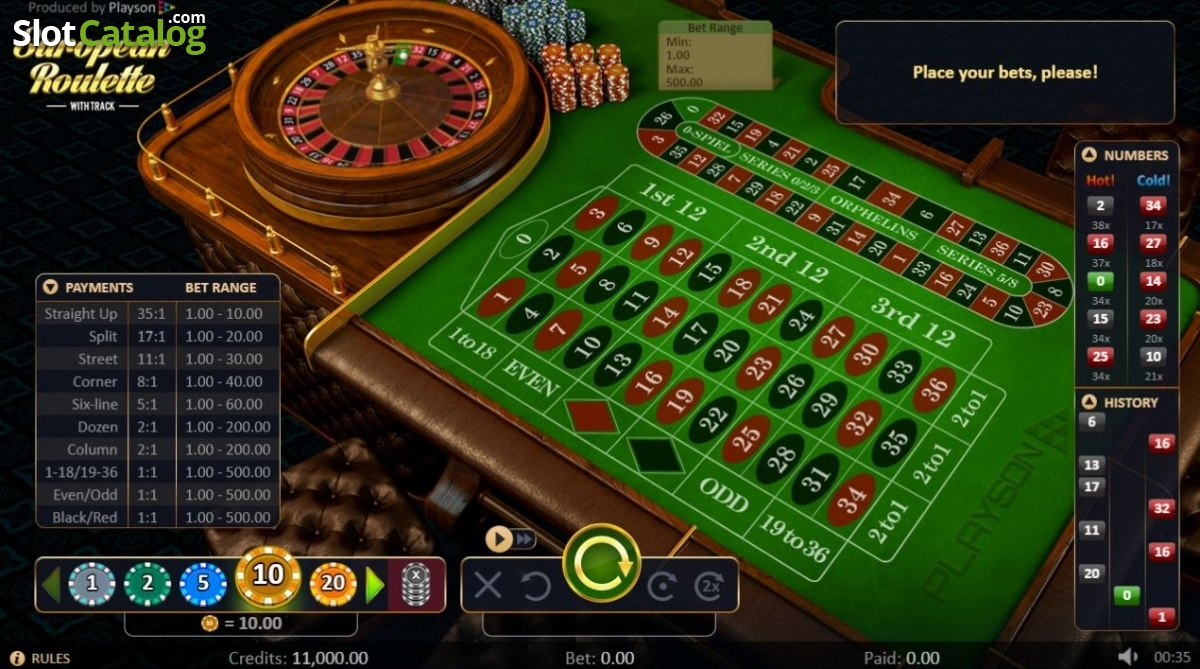 Spiele Roulette With Track High - Video Slots Online