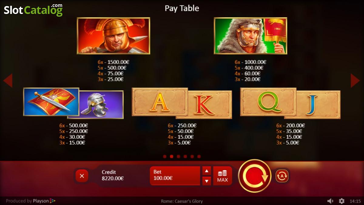 Spiele Caesars Glory - Video Slots Online