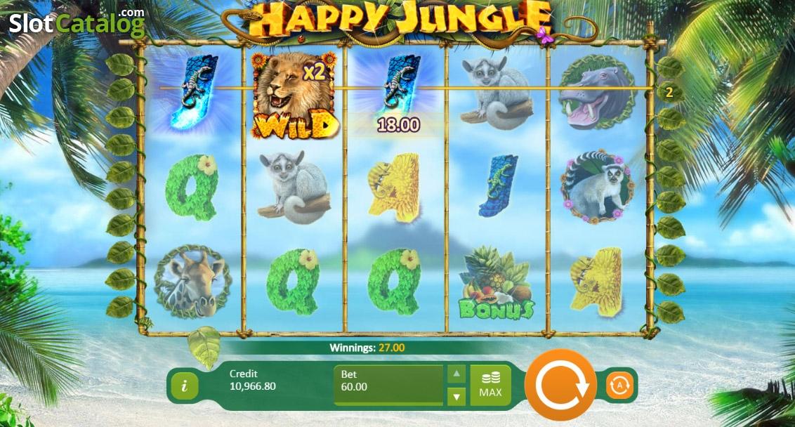 Happy jungle слот
