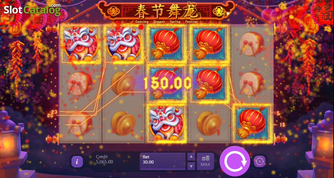 Dancing Dragon Spring Festival Slot - Play for Free Now