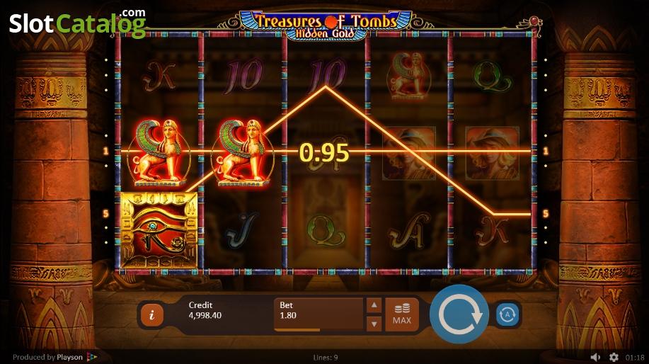 Spiele Treasures Of Tombs Hidden Gold - Video Slots Online