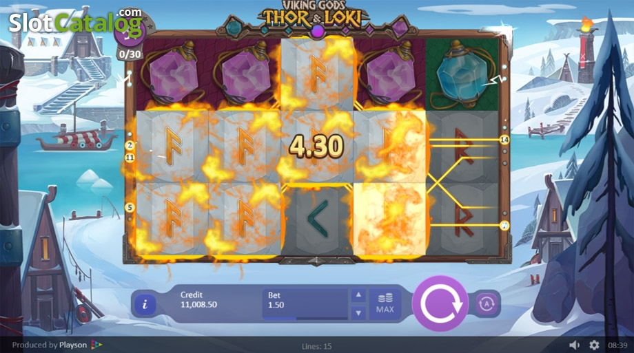 Spiele Viking Gods Thor And Loki - Video Slots Online