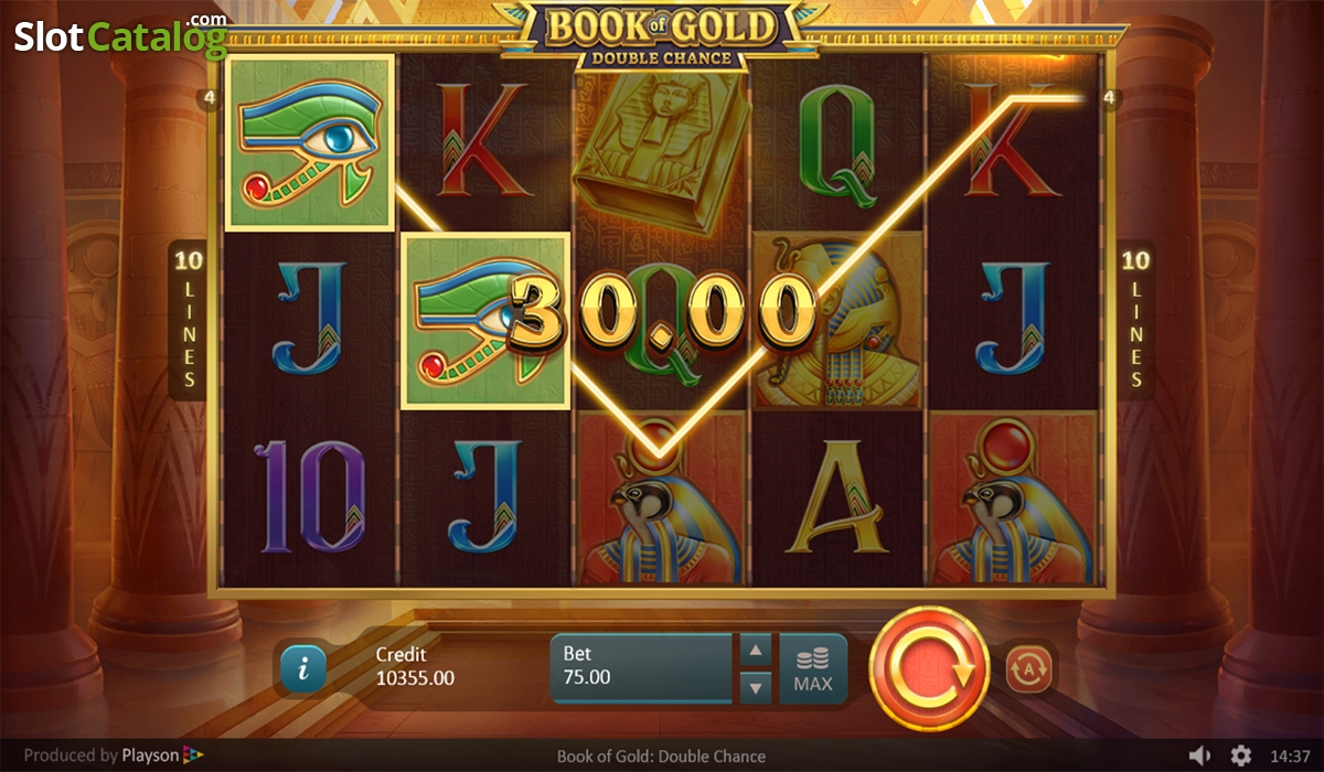 Spiele Book Of Gold: Double Chance - Video Slots Online