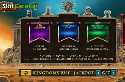 Spiele Kingdoms Rise: Sands Of Fury - Video Slots Online