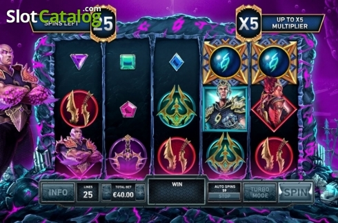 Free Spins 1. Kingdoms Rise: Guardians of the Abyss (Video Slot from Playtech Origins)