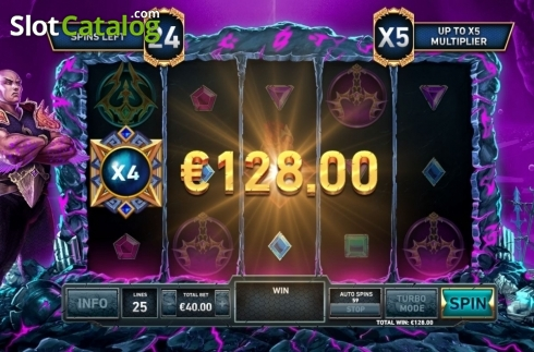 Free Spins 2. Kingdoms Rise: Guardians of the Abyss (Video Slot from Playtech Origins)