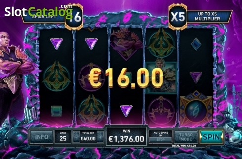 Free Spins 4. Kingdoms Rise: Guardians of the Abyss (Video Slot from Playtech Origins)