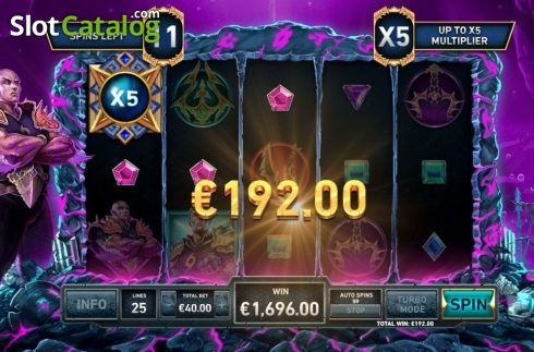 Free Spins 5. Kingdoms Rise: Guardians of the Abyss (Video Slot from Playtech Origins)