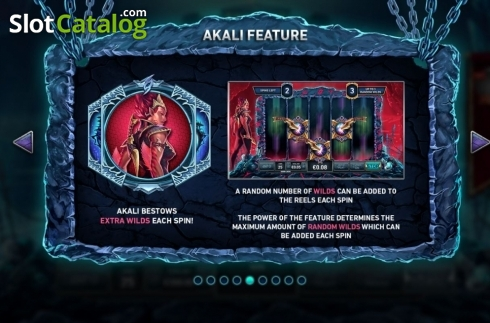 Features 3. Kingdoms Rise: Guardians of the Abyss (Video Slot from Playtech Origins)