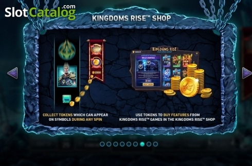 Features 5. Kingdoms Rise: Guardians of the Abyss (Video Slot from Playtech Origins)