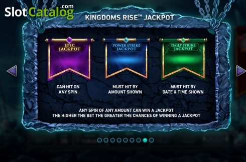 Features 6. Kingdoms Rise: Guardians of the Abyss (Video Slot from Playtech Origins)