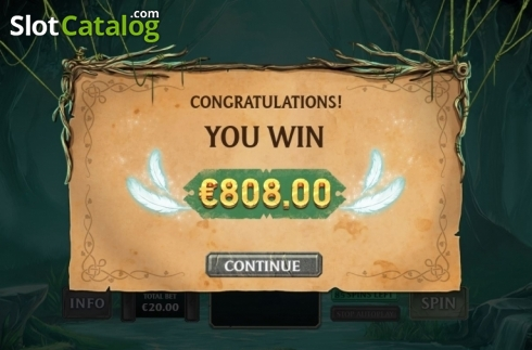 Total Win. Kingdoms Rise: Forbidden Forest (Video Slot from Playtech Origins)