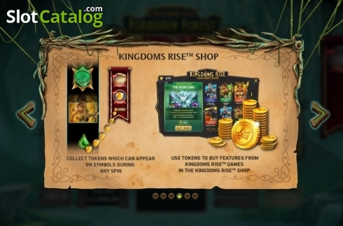 Features 2. Kingdoms Rise: Forbidden Forest (Video Slot from Playtech Origins)